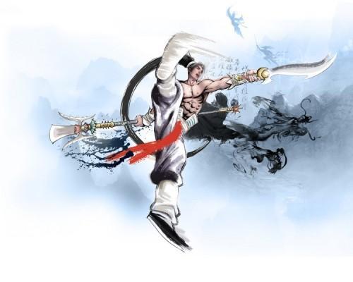破天一剑私服